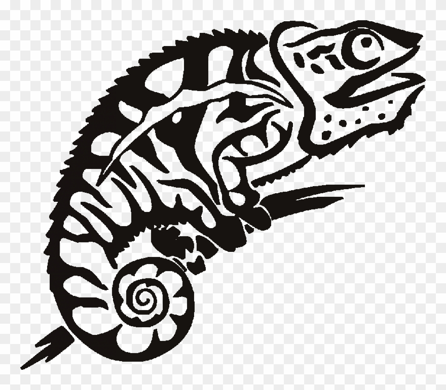 Chameleon black and white invisible background clipart clipart freeuse stock Silhouette At Getdrawings Com - Chameleon Art Graphic Clipart ... clipart freeuse stock