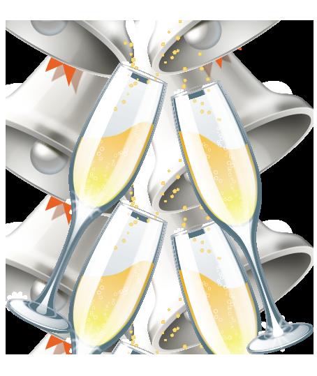 Wedding champagne glasses clipart jpg black and white wedding champagne glasses clipart | Wedding Clip Art | Scrapbooking ... jpg black and white