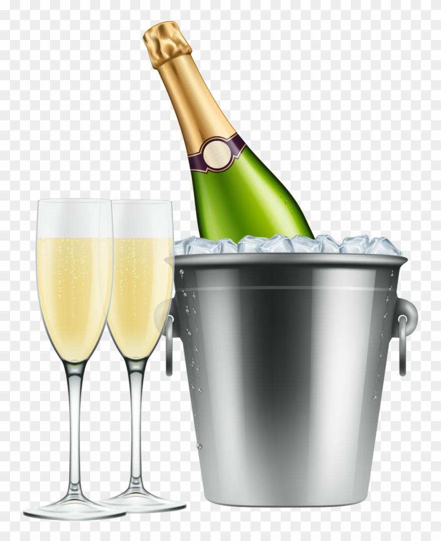 Champagne bottle and glasses clipart graphic freeuse download Champagne Clipart 7 Clip Art - Champagne Bottle Glasses Png ... graphic freeuse download
