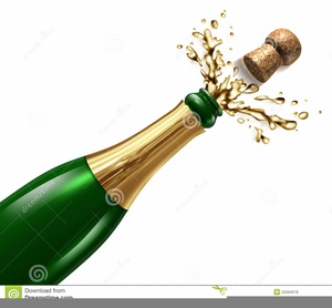 Champagne bottle clipart png black and white download Pictures Of Champagne Bottle Exploding Clipart | Free Images at ... png black and white download