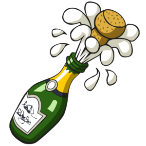 Champagne bottle popping clipart image royalty free download Ist Popping Champagne Bottle | Free Images at Clker.com - vector ... image royalty free download