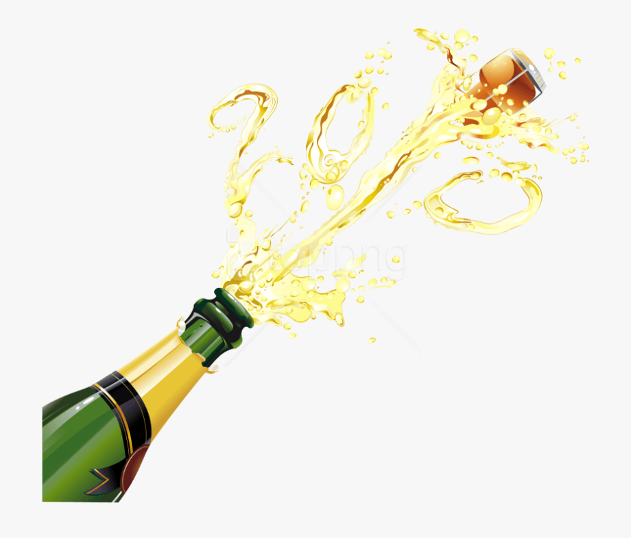 Champagne popping clipart free library Champagne Bottle Popping Png - Champagne Bottle Transparent ... free library