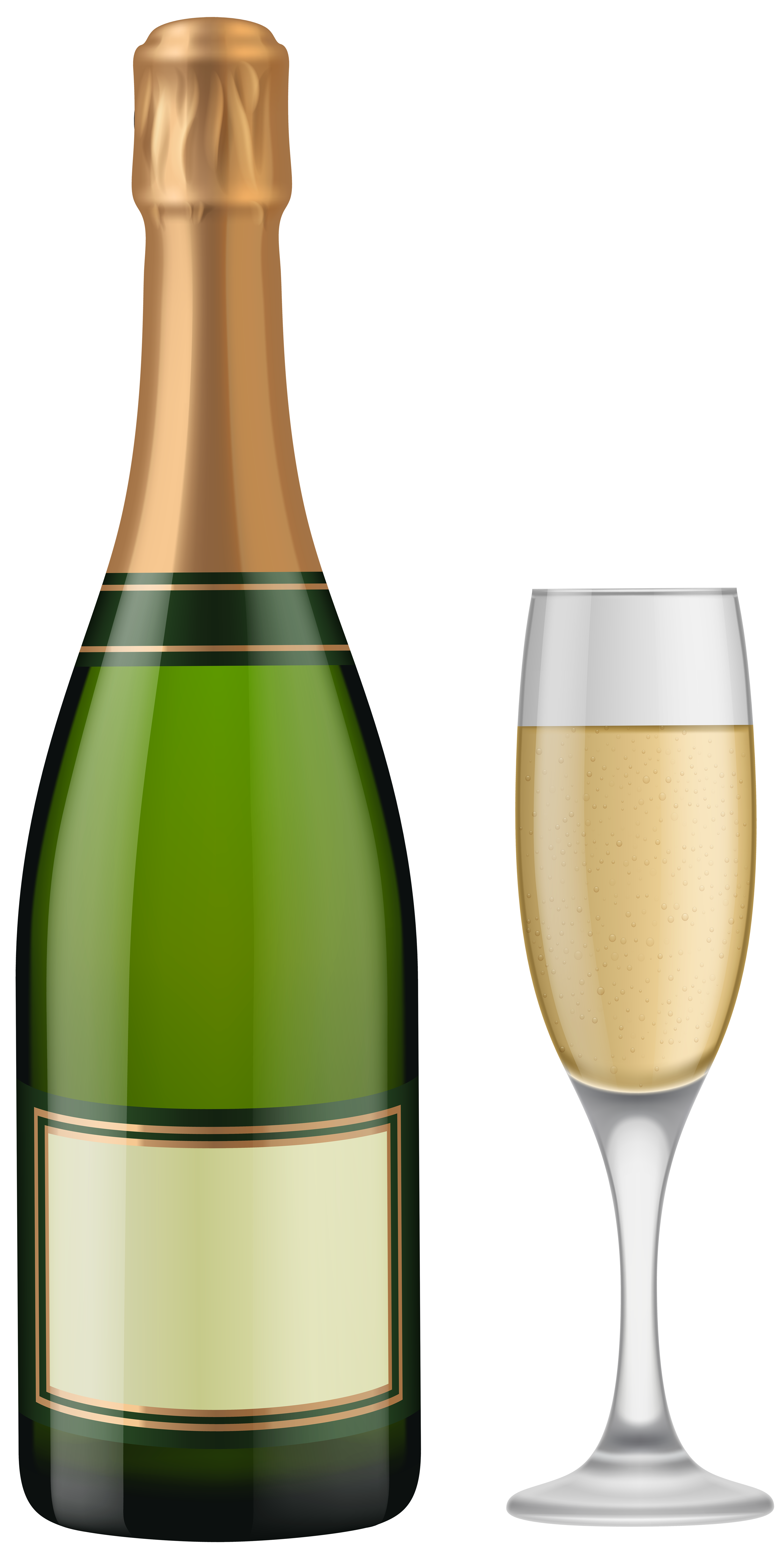 Champagne bottle and glasses clipart graphic royalty free stock Champagne clipart png clipart images gallery for free download ... graphic royalty free stock