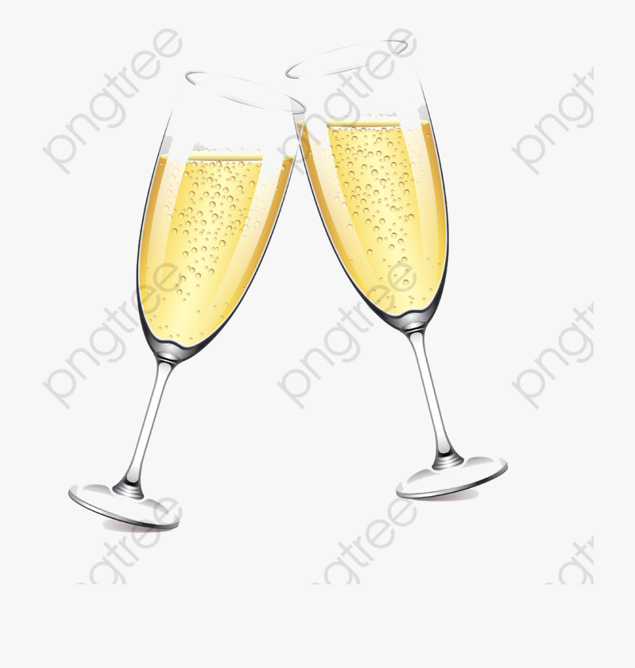 Champagne dot line clipart picture royalty free Two Glasses Of Champagne Champagne Glass Clipart Watercolor - Wine ... picture royalty free