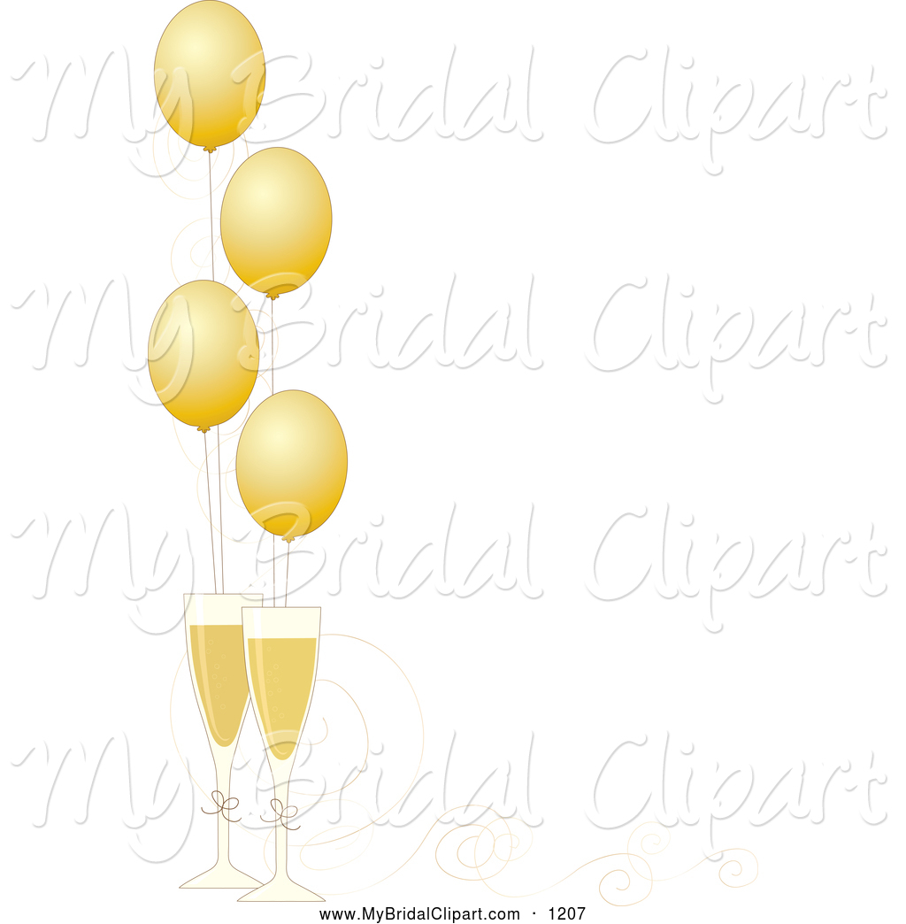 Champagne frame cliparts clip black and white download Champagne Glasses Clipart | Free download best Champagne Glasses ... clip black and white download