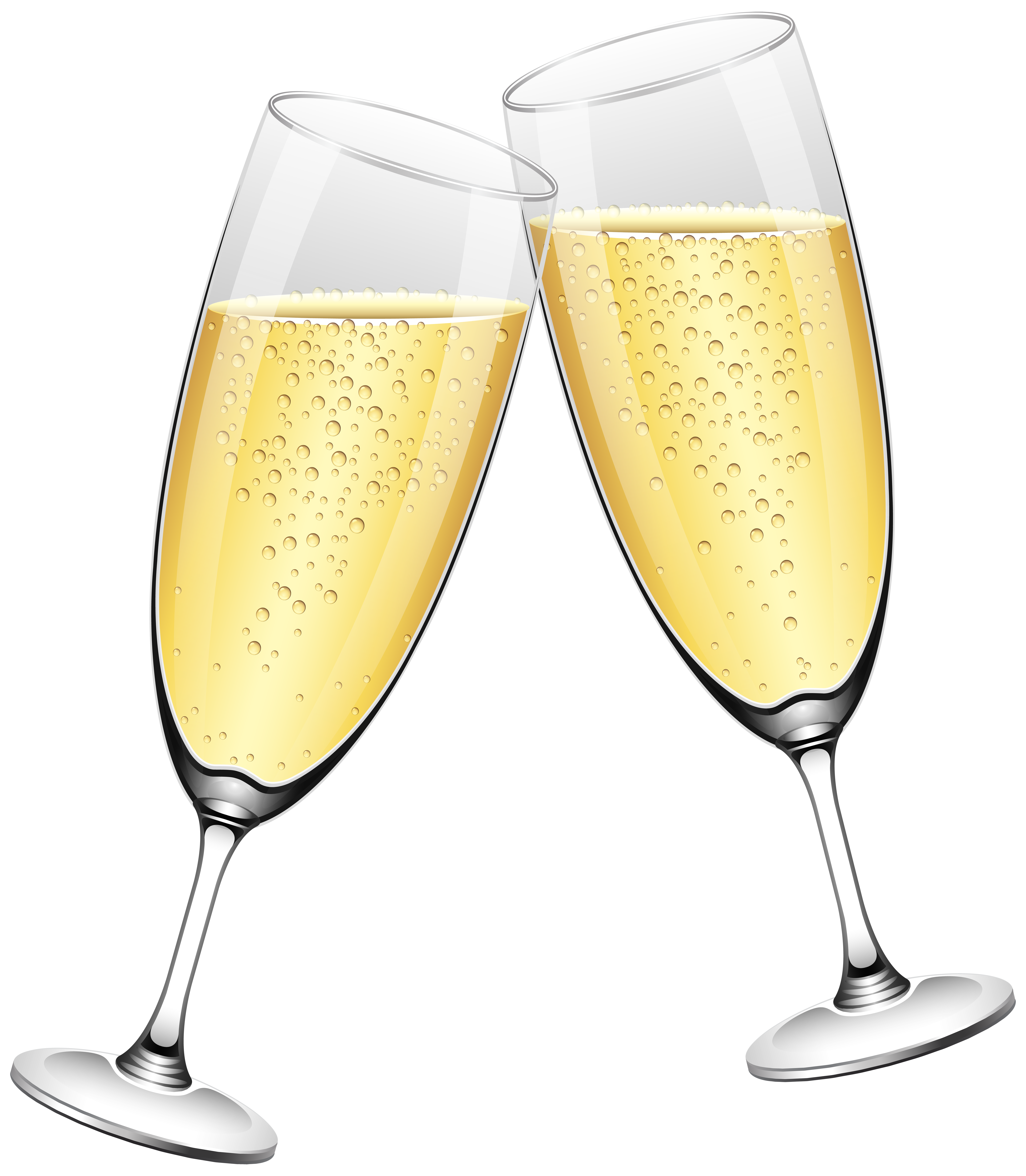 Wedding champagne glass clipart clipart freeuse Wedding Champagne Glasses PNG Clip Art - Best WEB Clipart clipart freeuse