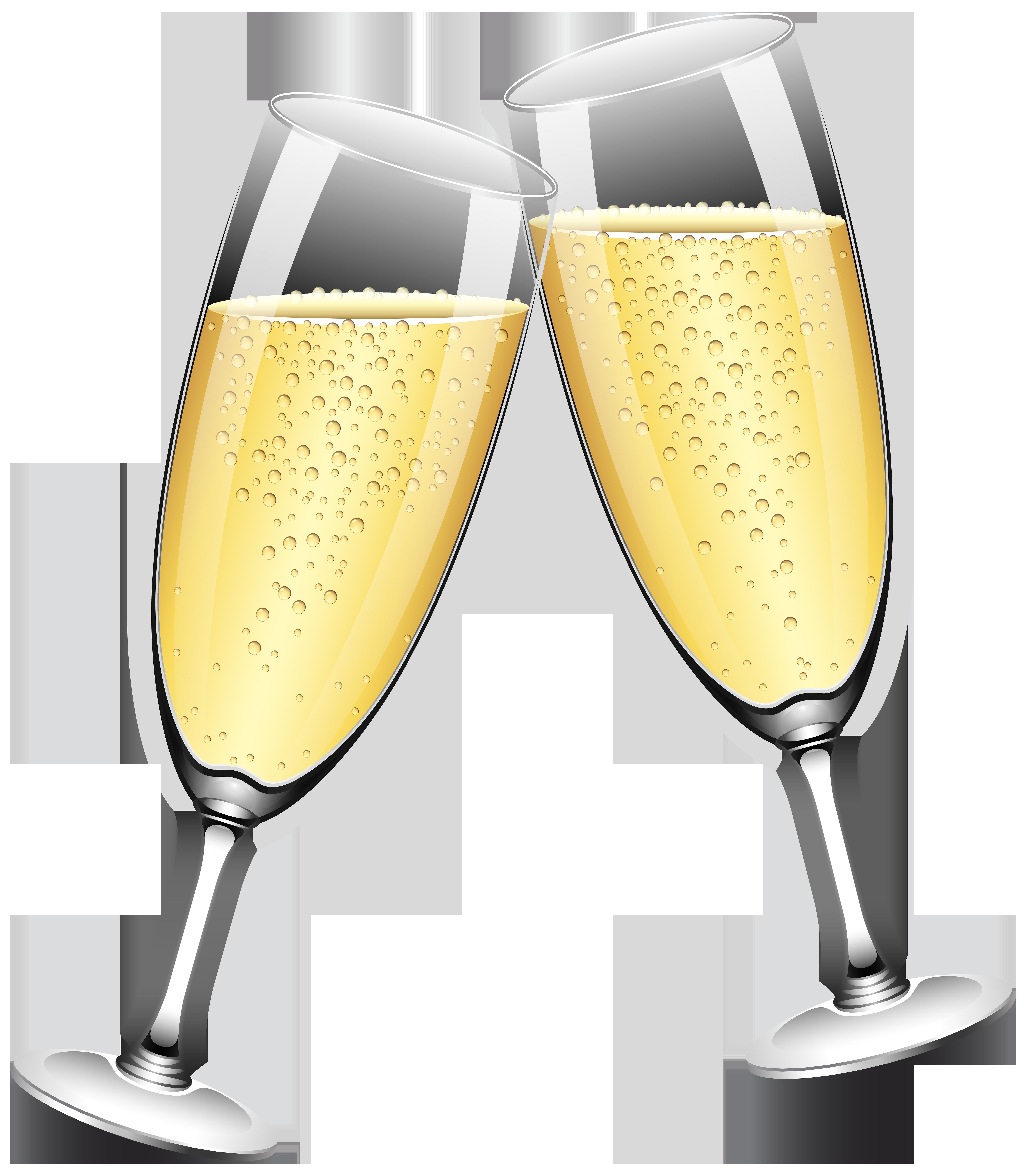 Wedding champagne glasses clipart banner transparent library Wedding Champagne Glasses PNG Clip Art - Best WEB Clipart banner transparent library