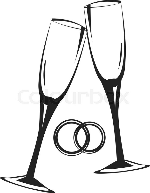 Champagne glasses clipart pictures clipart transparent Champagne Glasses Clipart | Free download best Champagne Glasses ... clipart transparent