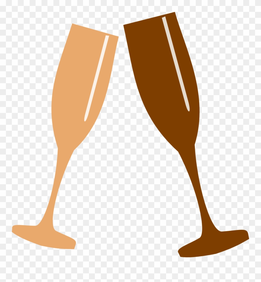 Champagne glasses toasting clipart png freeuse stock Clipart Champagne Glasses Toasting - Clip Art Champagne Glass Png ... png freeuse stock