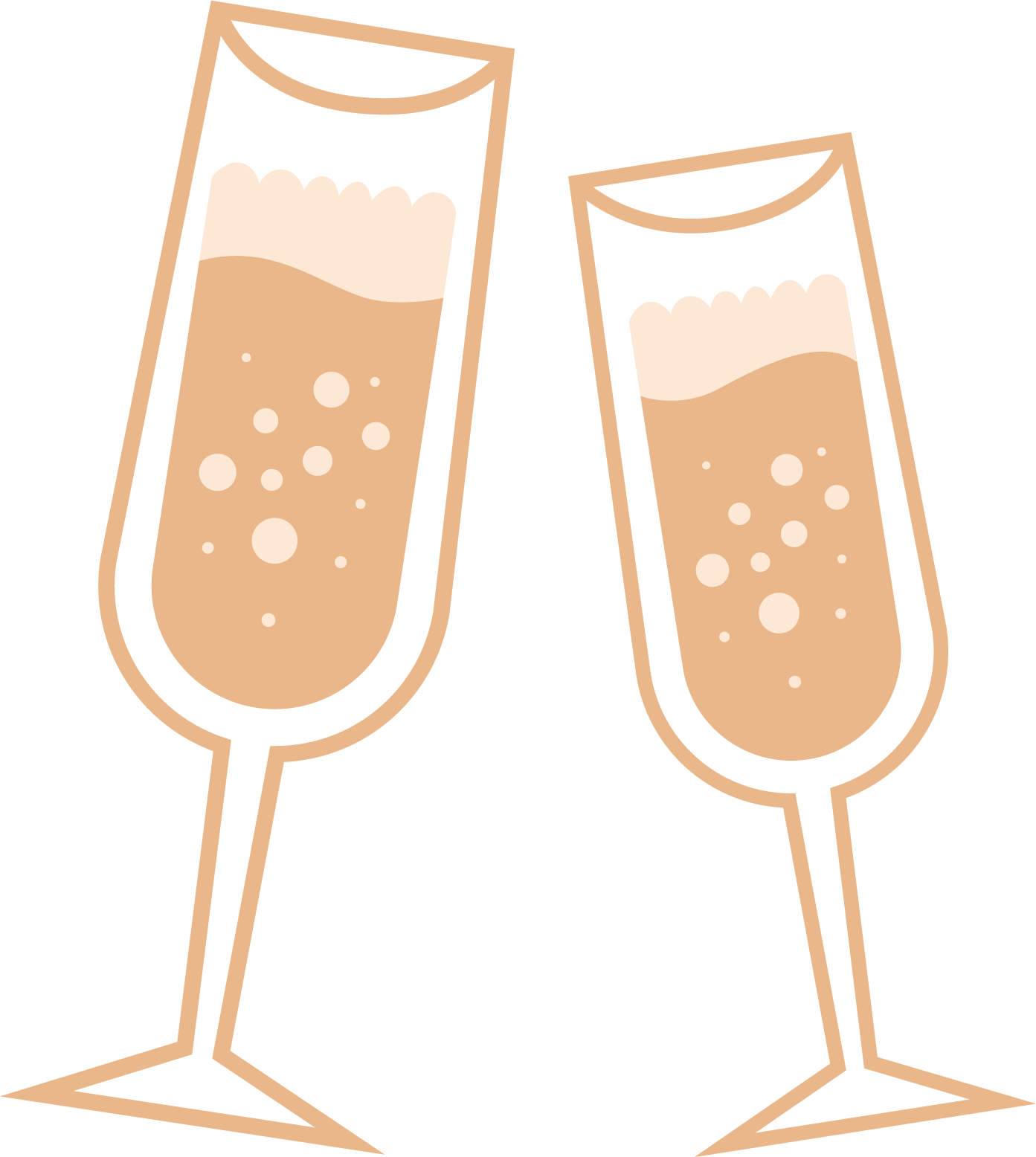 Champagne glasses toasting clipart image library library Glass Wine Clip Art. Champagne Glasses T #60312 - PNG Images - PNGio image library library