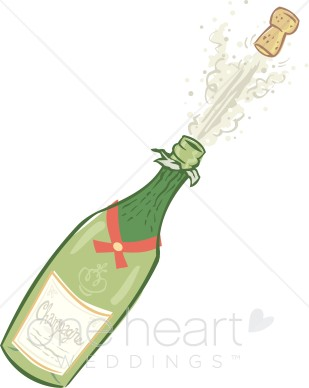 Champagne popping clipart clip art royalty free download Champagne Clipart | Wedding Ceremony Clipart clip art royalty free download