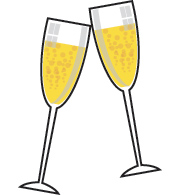 Champaine clipart graphic freeuse library Free Champagne Cliparts, Download Free Clip Art, Free Clip Art on ... graphic freeuse library