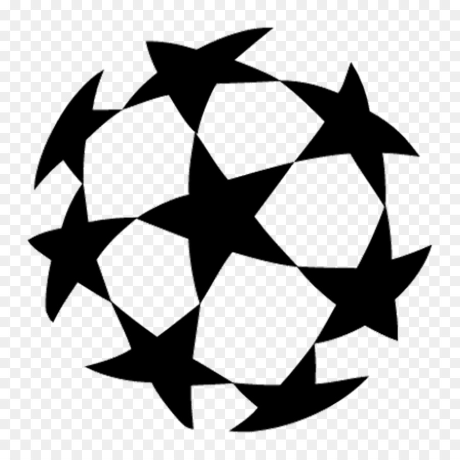 Champions league logo clipart jpg black and white library Champions League Logo png download - 1024*1024 - Free Transparent ... jpg black and white library