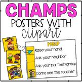 Champs clipart svg freeuse Champs Clip Art & Worksheets | Teachers Pay Teachers svg freeuse