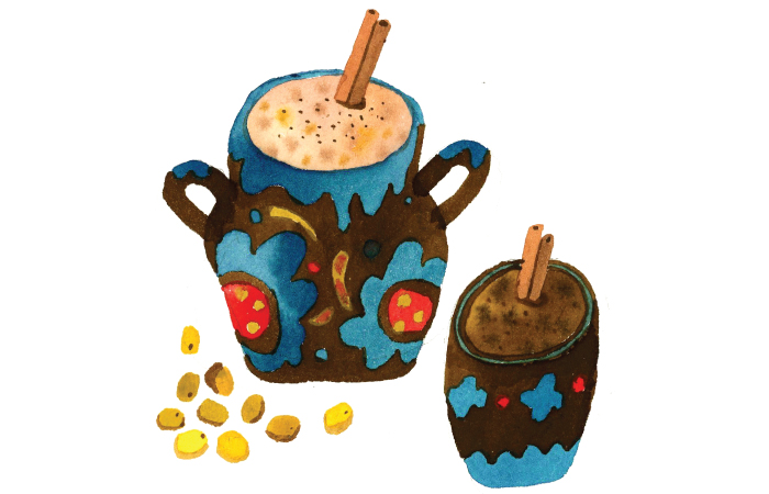 Champurrado clipart clip library Corn: The Eternal Mexican - Southern Foodways Alliance clip library