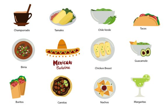 Mexican margaritas clipart png download Mexico Clip Art, mexican food clipart, mexican cuisine Tacos Tamales ... png download