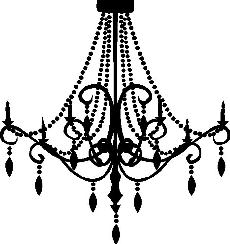 Chandelier clipart free silhouette vector library download Free Vintage Chandelier Cliparts, Download Free Clip Art, Free Clip ... vector library download