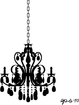 Chandelier clipart free silhouette jpg transparent library Free vector chandelier images free vector download (67 Free vector ... jpg transparent library