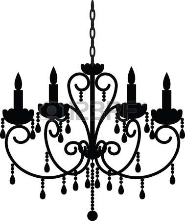 Chandelier clipart free silhouette image freeuse download Chandelier Clipart | Free download best Chandelier Clipart on ... image freeuse download
