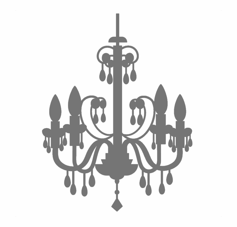 Chandelier clipart transparent vector library stock Chandelier Vector Abstract - White Chandelier Clipart Transparent ... vector library stock