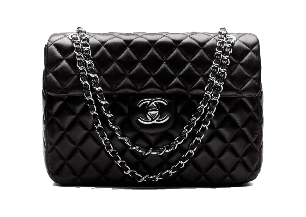 Chanel bag clipart clip art library download Download Handbag Bag Black Chanel Perfume Free HQ Image Clipart PNG ... clip art library download