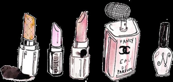 Chanel lipstick clipart freeuse Perfume Clipart Lipstick - Chanel Lipstick Cartoon - Download ... freeuse