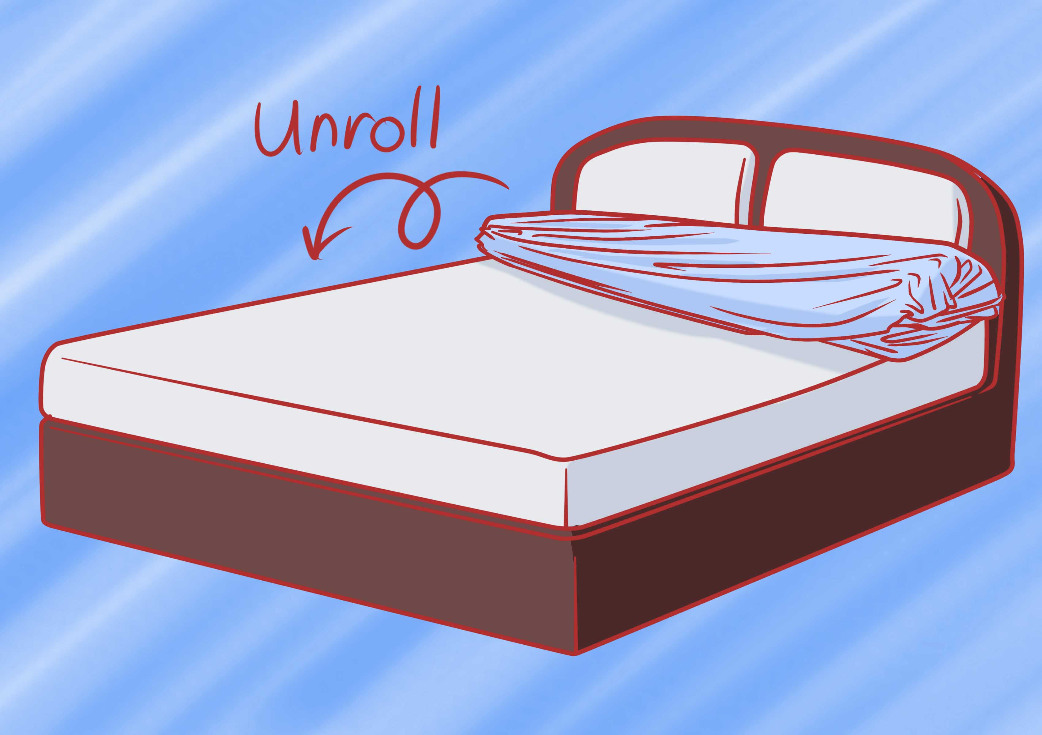 Change bed sheets clipart clip art freeuse library How to Change a Duvet Cover: 11 Steps (with Pictures) - wikiHow clip art freeuse library
