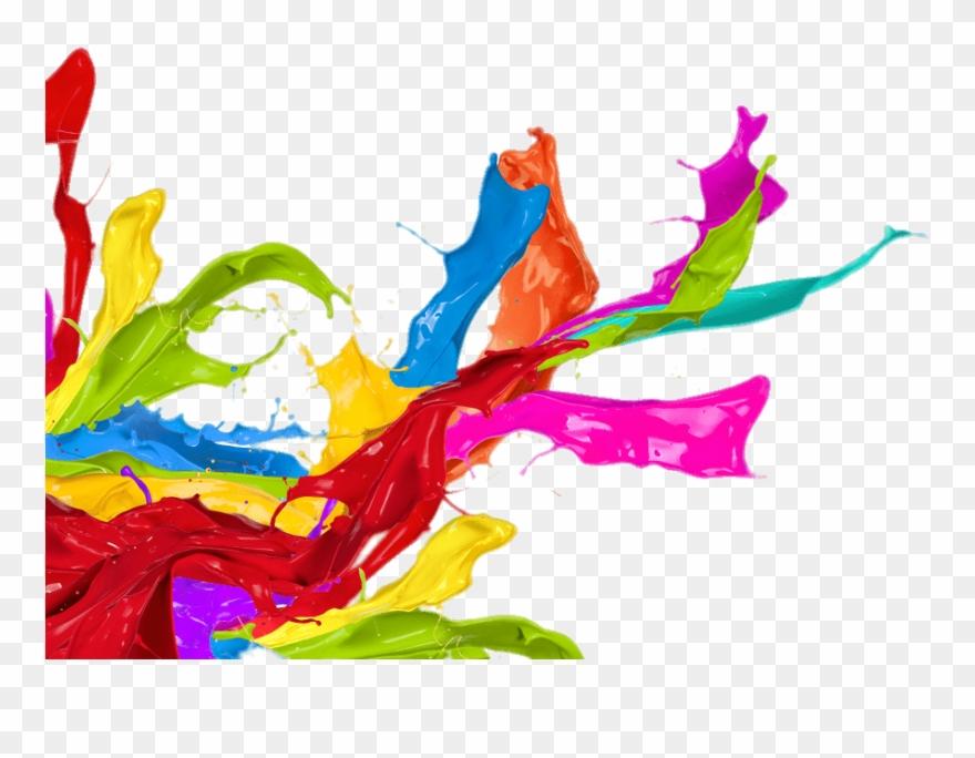Change clipart image color banner library library Paint Splatter Left Corner Footer - Change Your Life Today With The ... banner library library