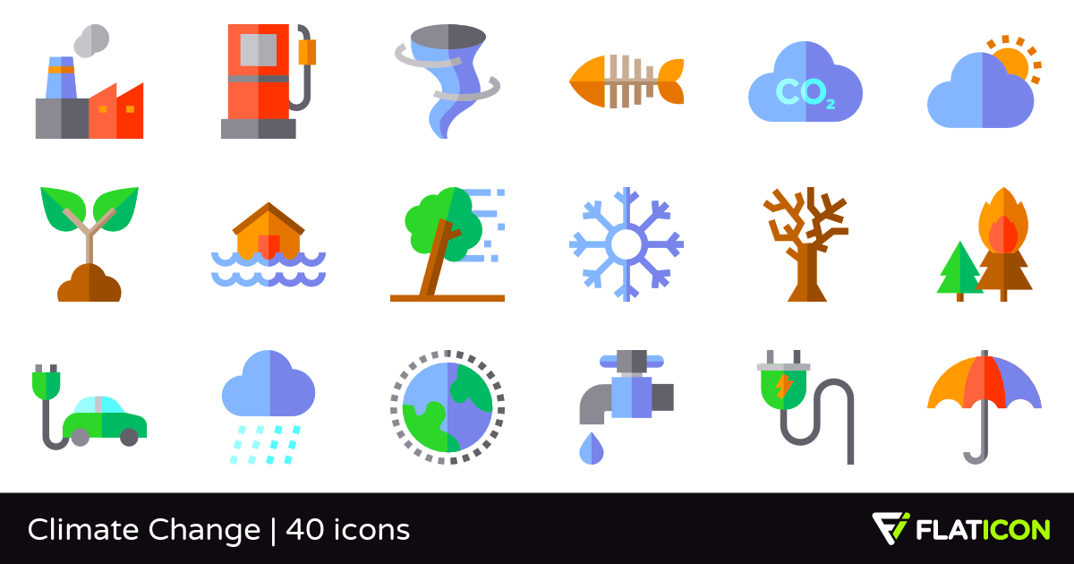 Change clipart into icon clip royalty free download Climate Change 40 free icons (SVG, EPS, PSD, PNG files) clip royalty free download