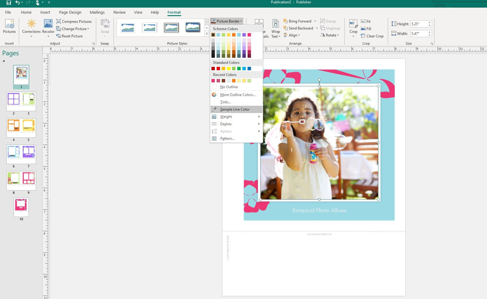 Change color of black and white clipart in publisher image library library How to Use the Eyedropper Tool in MS Publisher image library library