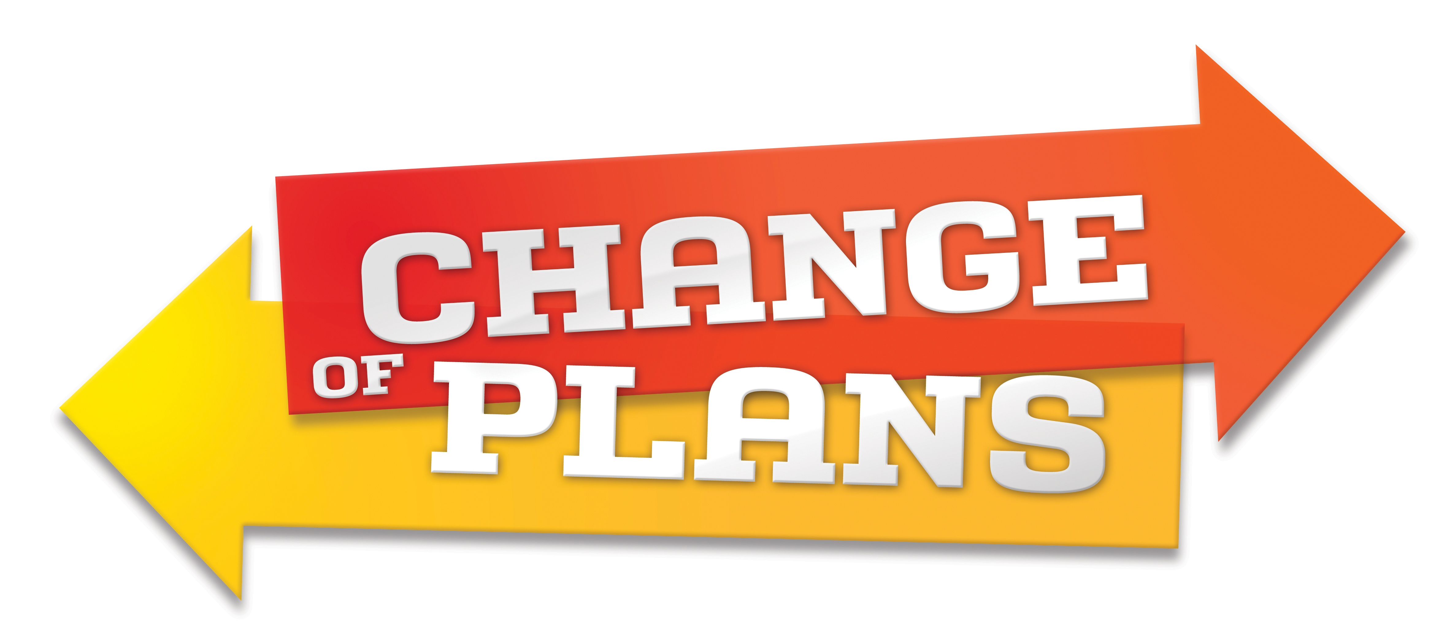 Change of plans clipart