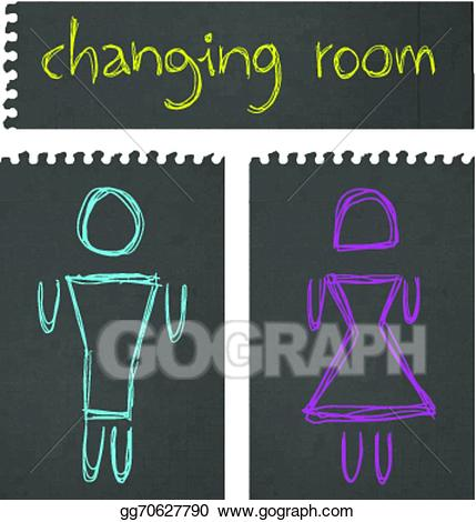 Changing room clipart clipart free stock Vector Stock - Changing room. Clipart Illustration gg70627790 - GoGraph clipart free stock