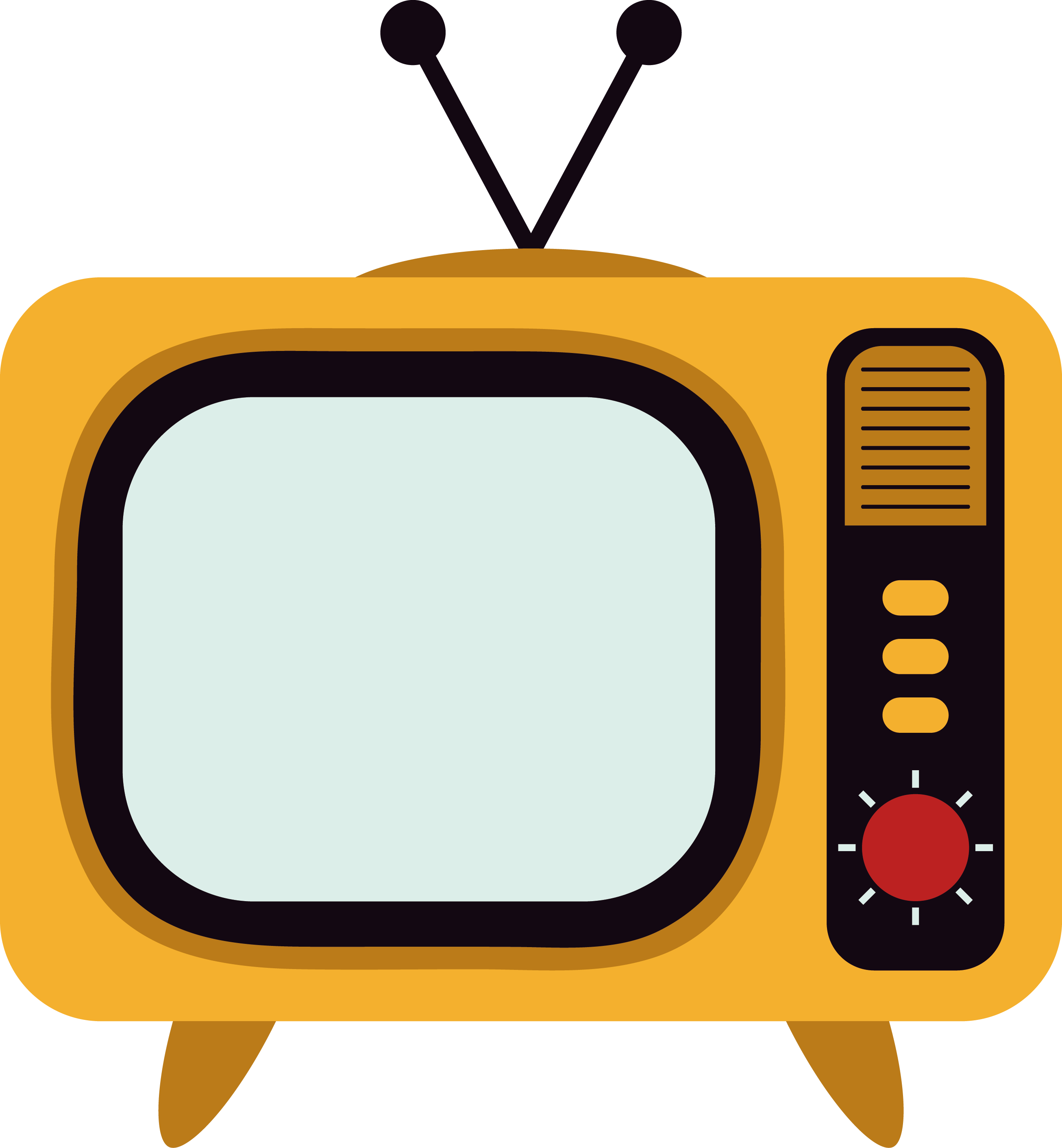 Channel clipart graphic black and white download Download Television Set Tv Yellow Vector Channel Clipart PNG Free ... graphic black and white download
