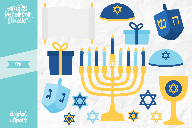 Chanuka clipart image transparent Happy Hanukkah Clipart Illustration PNG image transparent