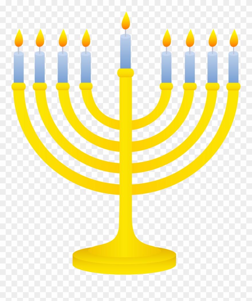 Chanuka clipart royalty free download Jewish Symbols Clip Art - Hanukkah Menorah Clip Art - Png Download ... royalty free download