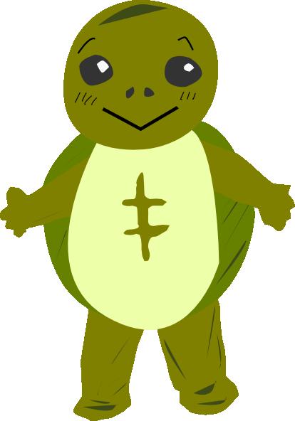 Character clipart svg transparent Turtle Character Clip Art at Clker.com - vector clip art online ... svg transparent