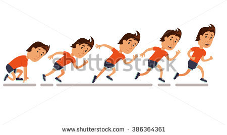 Character clipart to use for storyboarding. Storyboard stock images royalty