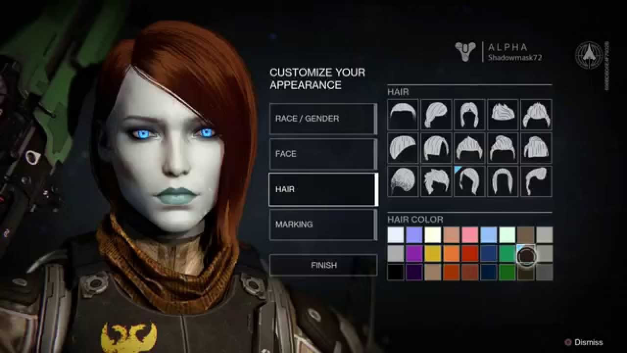 Character creator vector royalty free download Destiny Character Creation options - YouTube vector royalty free download