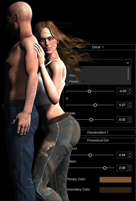 Character creator banner freeuse Character Creator Design Unlimited 3D Characters - iClone banner freeuse