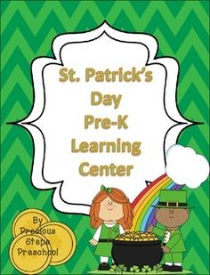 Character day in pre k clipart clip art free stock St. Patrick's Day Math, Literacy, and Writing, PreK and ... clip art free stock