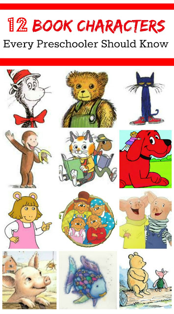 Character day in prek clipart png transparent stock 12 Book Characters for Preschool Children - Planet Smarty Pants png transparent stock