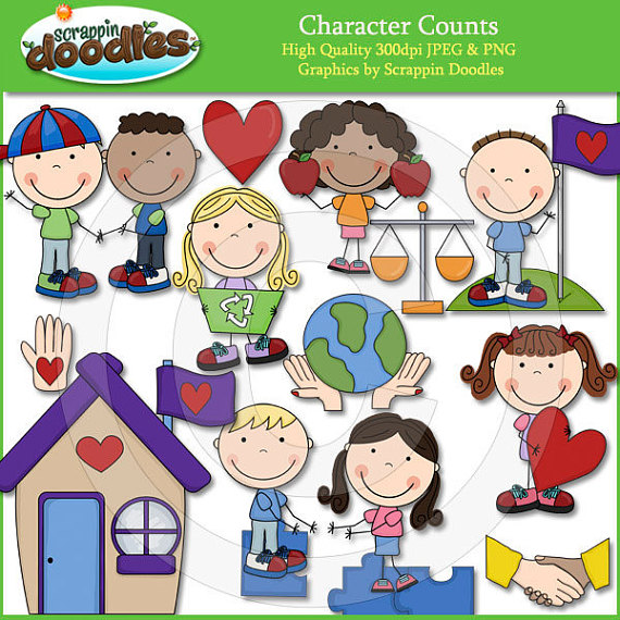 Character education clipart clipart library Character Counts Clip Art | Products | Character counts, Clip art ... clipart library