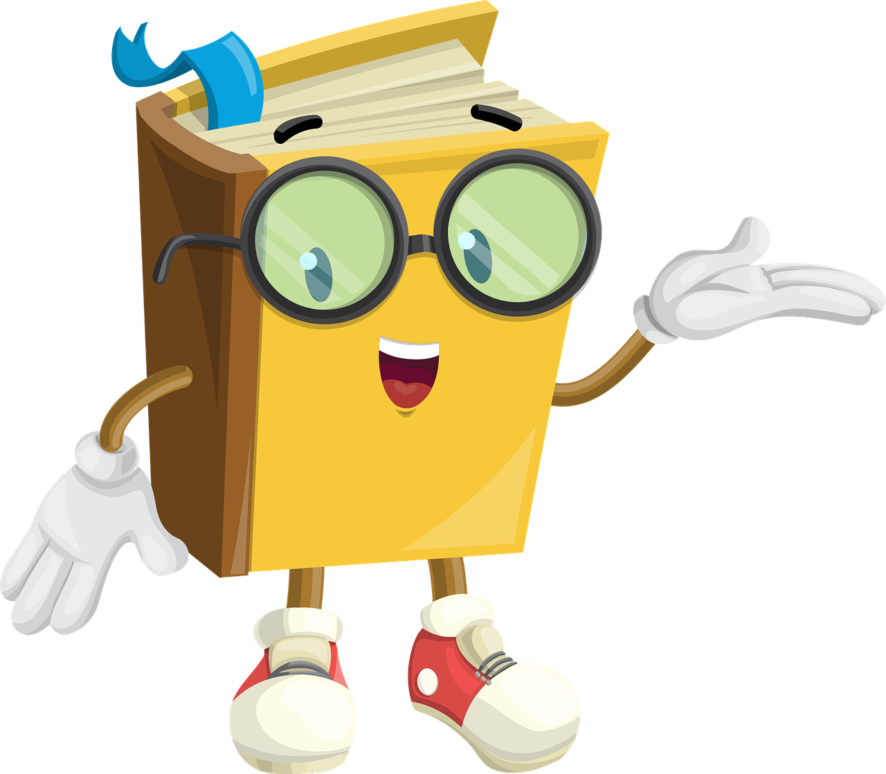 Character in book clipart clip art Book Character Glasses Show PNG Image - Picpng clip art