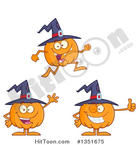 Character pumpkin clipart image transparent library Pumpkin Character Clipart #1351675: Cartoon Halloween Pumpkin ... image transparent library
