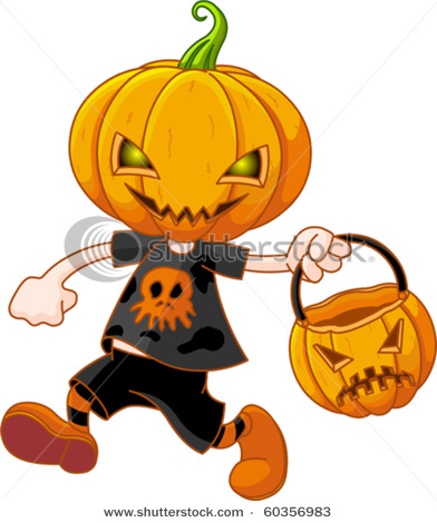 Character pumpkin clipart banner library stock Pumpkin head clipart - ClipartFest banner library stock