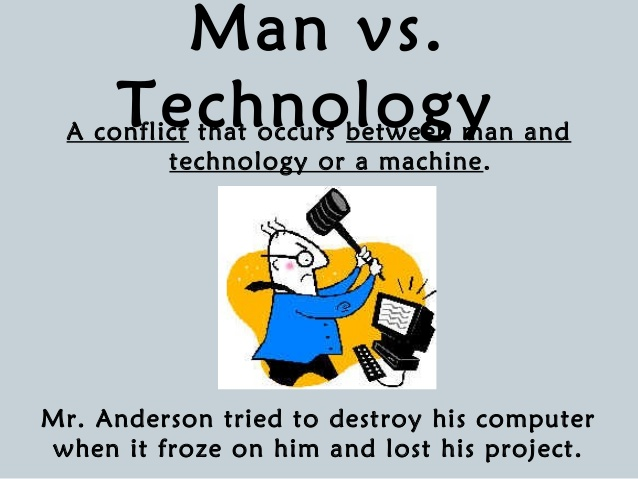 Character vs character clipart free library Copy Of Conflict In Fiction - Lessons - TES Teach free library