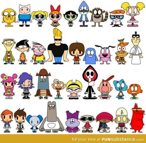 Character vs character clipart jpg royalty free download 1000+ ideas about Cartoon Network Characters on Pinterest ... jpg royalty free download