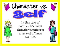Character vs character clipart clip download Copy Of Conflict In Fiction - Lessons - TES Teach clip download