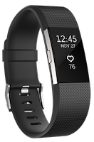 Charge 2 clipart black and white library Fitbit Charge 2™ Heart Rate + Fitness Wristband clipart black and white library
