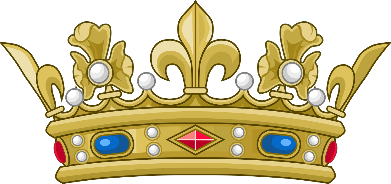 Royal baby boy prince crown clipart picture library File:Crown of a Prince of the Blood of France (variant).svg ... picture library